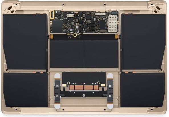 macbook oro interno batterie
