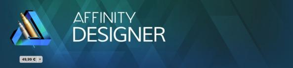 Affinity Designer programma vettoriale mac